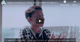 Impact Investing by Tina Allton