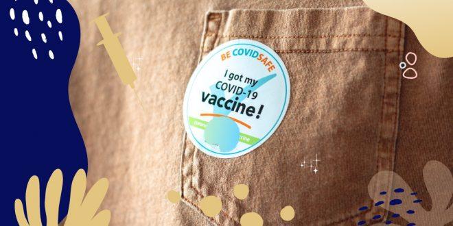 I got my Covid-19 vaccine sticker