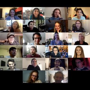 Ginni online meeting