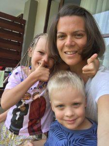 Anna & children