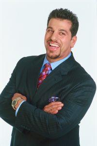Drew Stevens in business suit